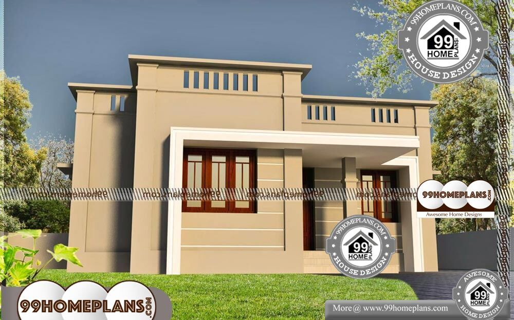 Single Level Home Floor Plans - One Story 500 sqft- HOME