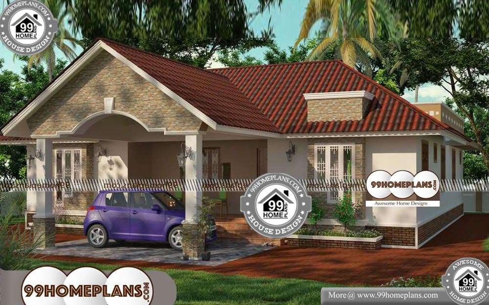 Small Budget House Models - One Story 2060 sqft-Home