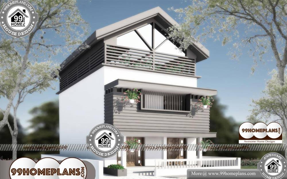 Two Story Small House Plans - 2 Story 2400 sqft-HOME