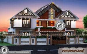Architectural Residential Plans & 60+ Double Floor House Plans Collection