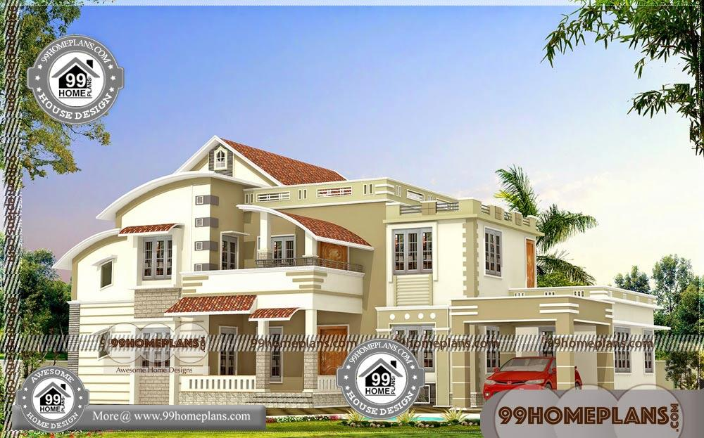 Beautiful Front Elevation of Houses   25+ Modern Two Story House Plans