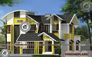 Best House Elevation 90+ Double Storey Display Homes Modern Designs