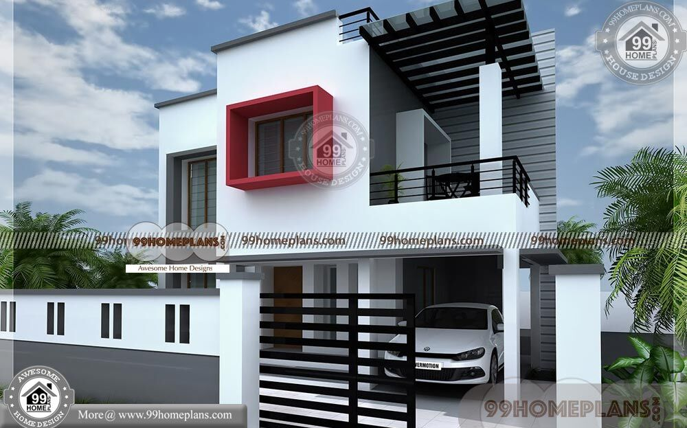 Budget Friendly House Plans 90+ Two Story House With ...