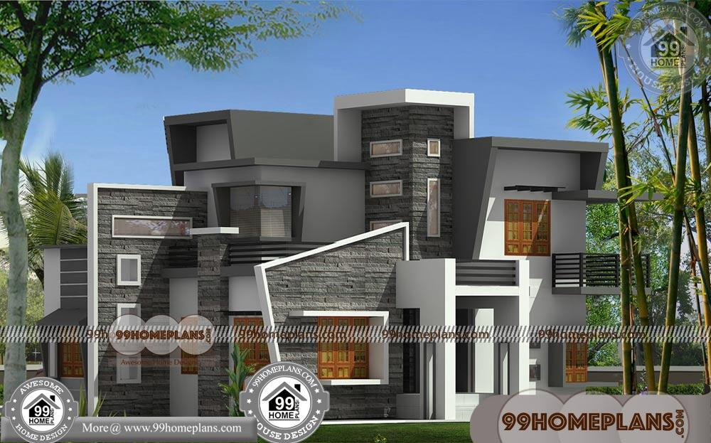 Contemporary House Two Floor Home Floor Plans 200+ Free Collections