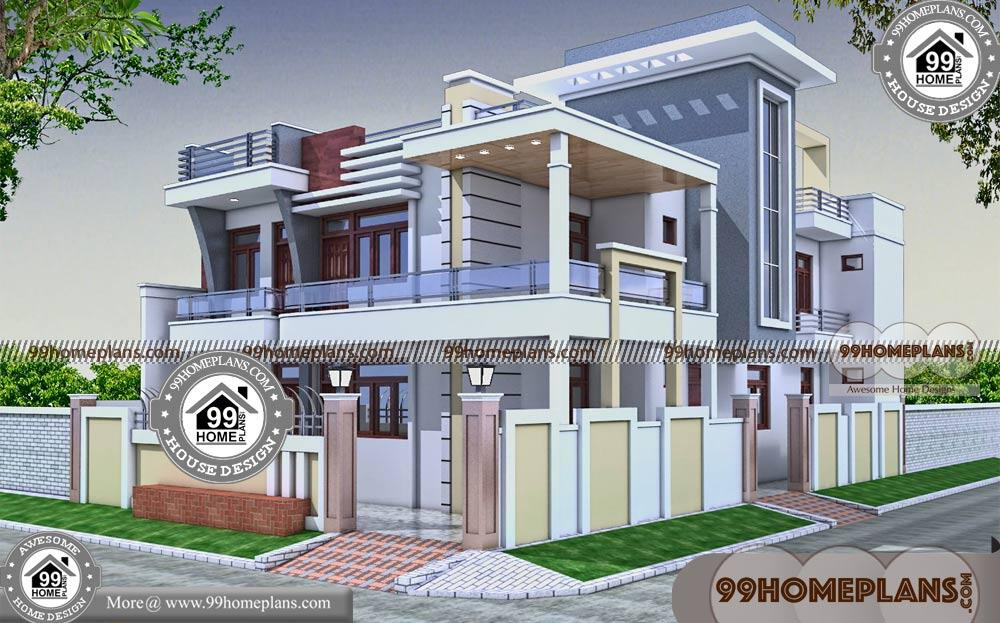 Corner Lot House Plans With Photos 60 Latest Two Storey House Design