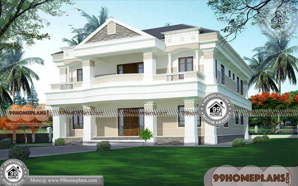 Floor Plans For Homes 80 2 Story House Plans With Balcony Designs