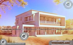 Four Bedroom Two Storey House Plans | 90+ Kerala Model Veedu Images