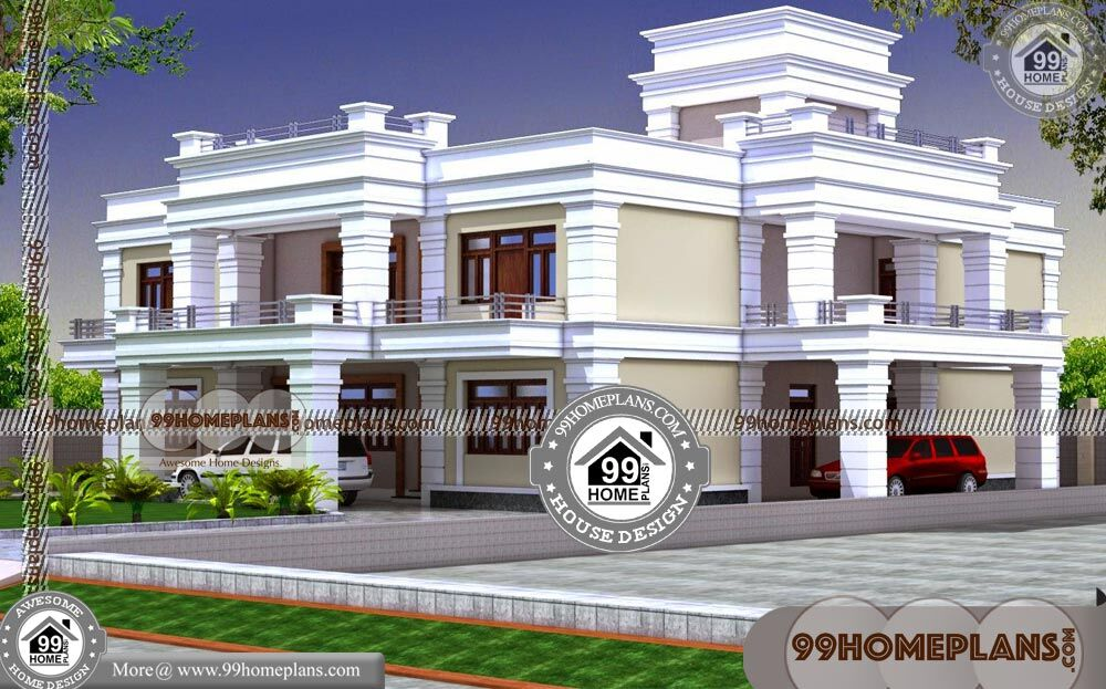 Free Duplex House Plans Indian Style 60+ Double Story Display Homes