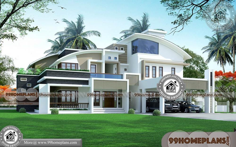 Free Indian Home Plans and Designs & 90+ Two Storey House Design