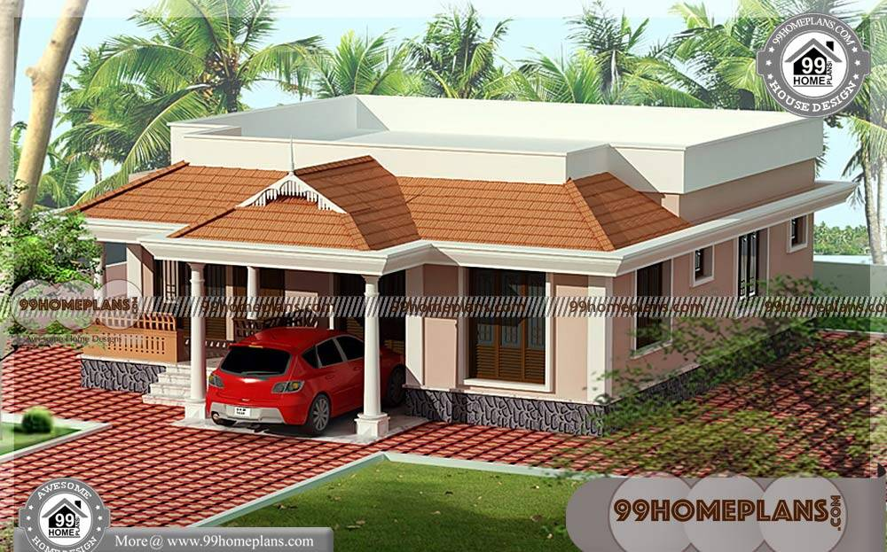 Front Elevation Designs For Single Storey Terrace House : Front elevation designs for single floor houses double