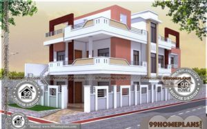 Home Architecture Plan Collections | 40+ Double Story Homes Designs
