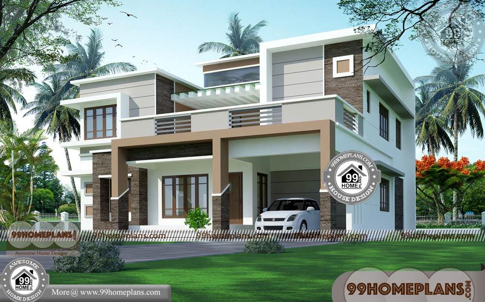 Home Design Architecture & 90+ Best Two Storey House Designs & Plans
