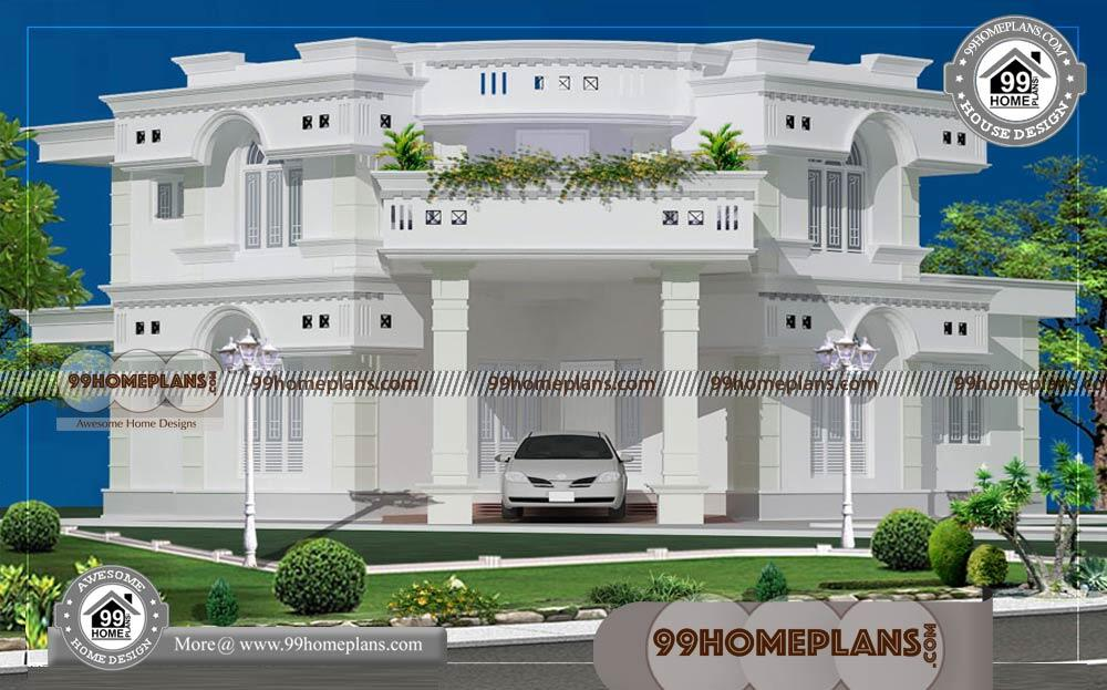 Home Design Indian Style Elevation 60+ 2 Storey Villa Designs Online