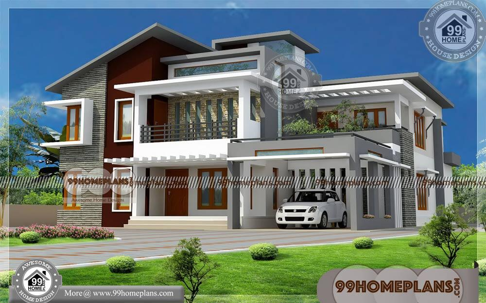 Home Design Low Budget 80 Beautiful Double Storey House Designs
