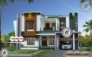 Wonderful House Design Indian Style Plan And Elevation | 90+ Two Story Homes
