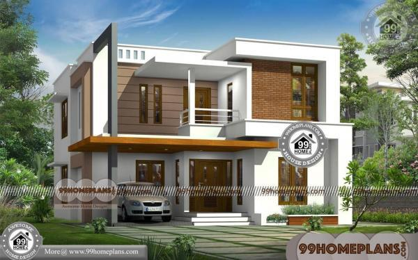 House Design Plan Elevation & 80+ Two Story Small House Floor Plans