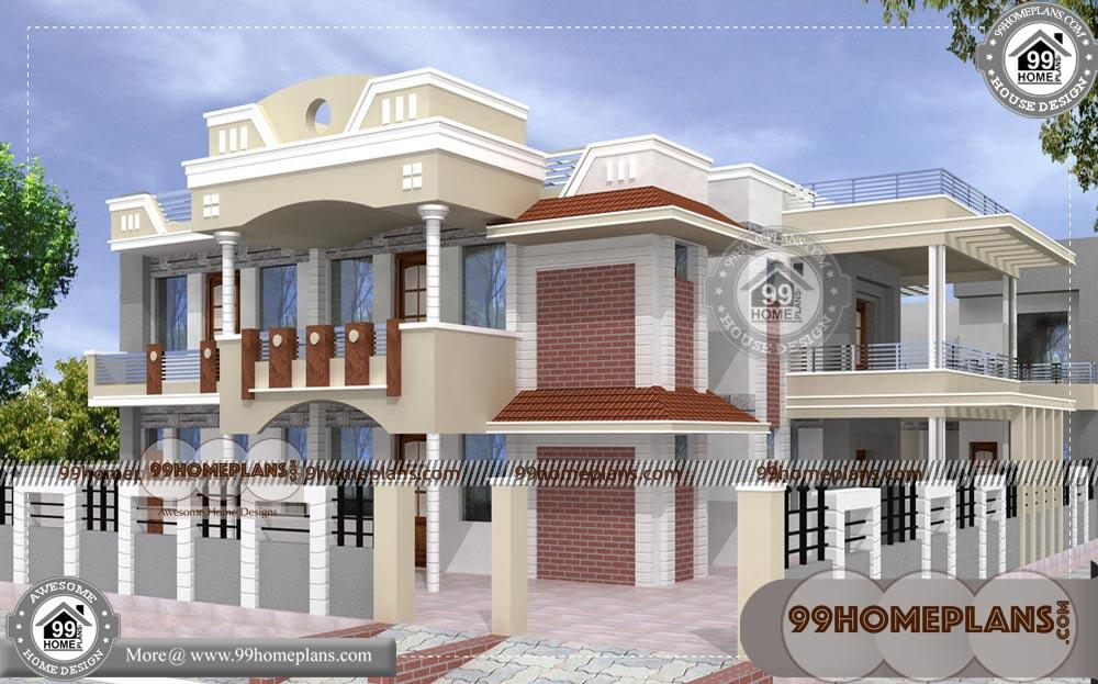 House Design With Floor Plan 70 Front Home Design Double Story Ideas