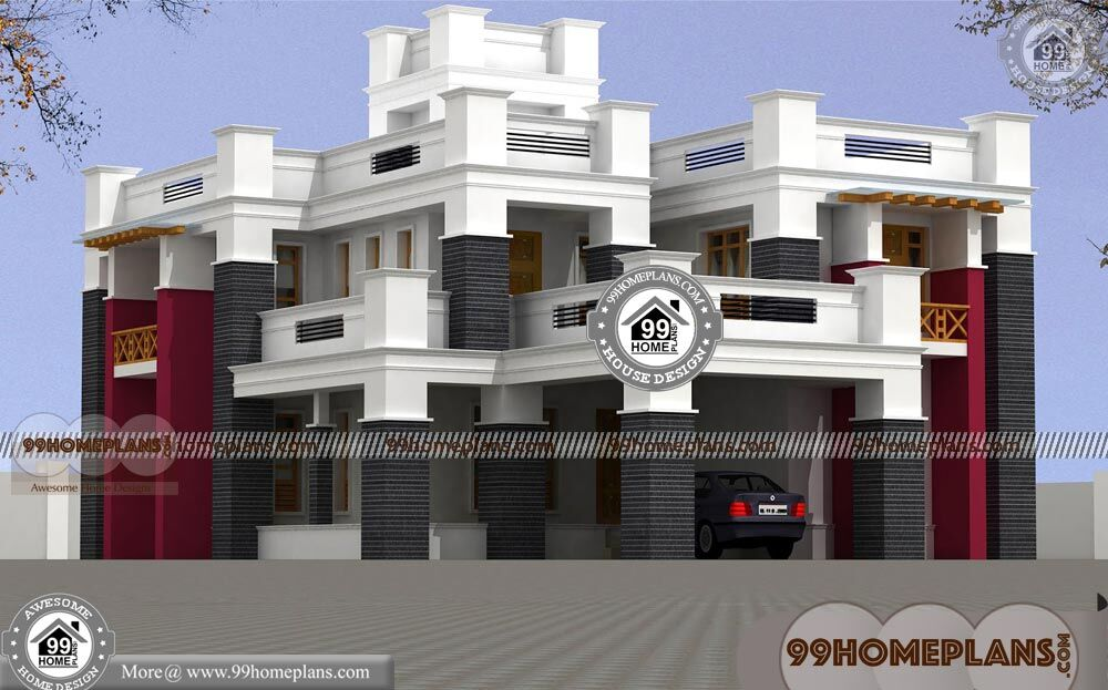 House Design with Low Budget 70+ Double Storey House Plans Online