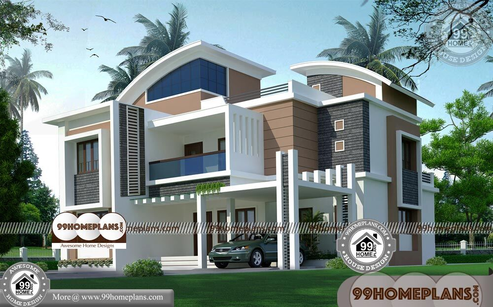 House Plan and Elevation Indian Style & 60+ Modern 2 Storey Homes