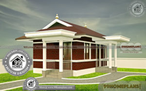 House Plans One Level Open Floor Plan 60+ Traditional Home Kerala