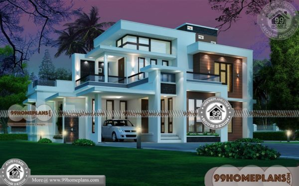 Indian Front House Design 90double Story Bungalow Design Collection