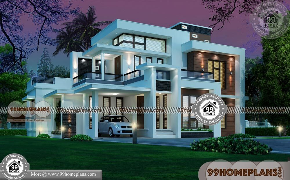 Indian Front House Design | 90+Double Story Bungalow Design Collection