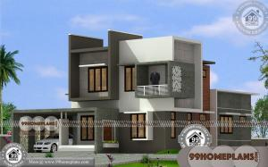 Indian Home Design Floor Plans | 80+ Small Two Storey House Plans