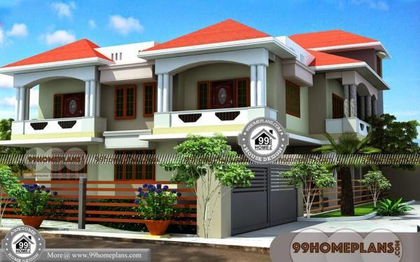 Indian House Design Front Elevation 70+ Two Floor Home Design Plans