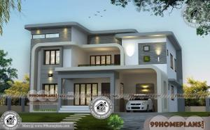 Indian House Design Plans | 80+ Two Story House Design Plans Online