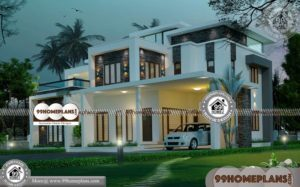 Indian New House Design & 60+ 3 Storey Modern House Plans & Ideas