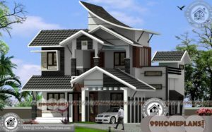 Indian Small Home Design Plans 85+ Latest Double Storey Homes Plans