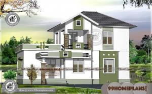 Latest Indian Home Designs 90+ Double Storey Homes Plans Collections