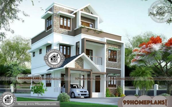 Low Budget House Plans in Kerala with Cost 80+ Large Home Plans