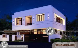 Low Cost Modern Homes 60+ Indian House Designs Double Floor Plans