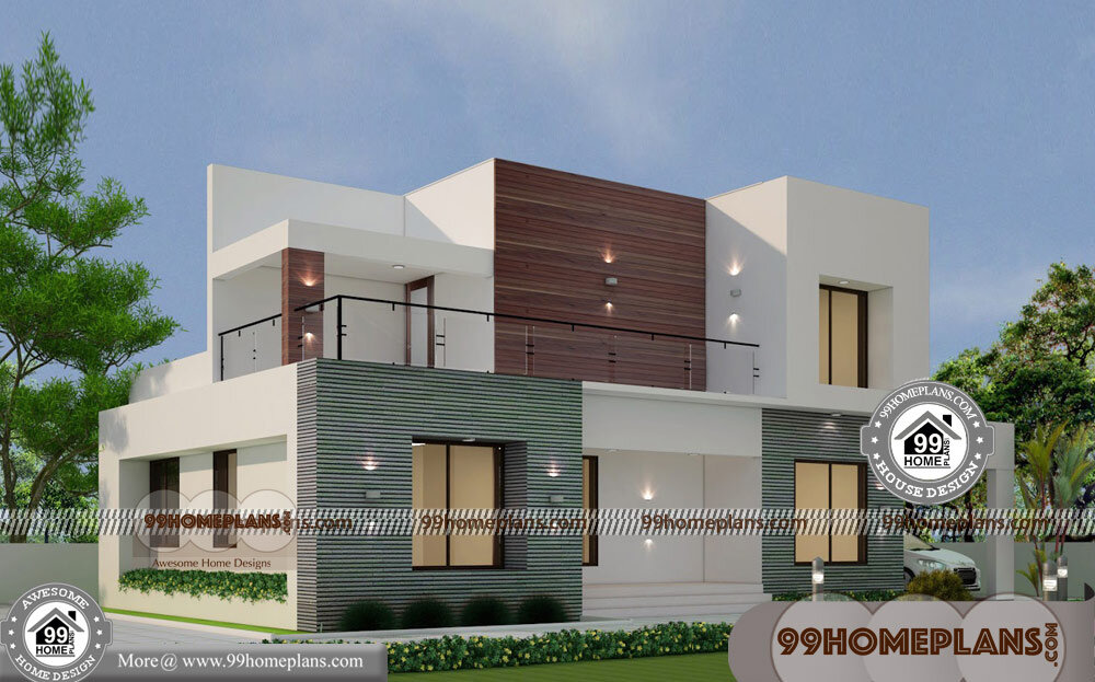 Low cost modern house designs 60 two storied house plans for Tavoli design low cost