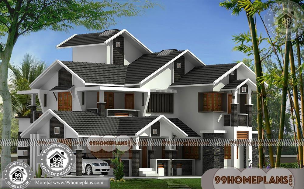 Luxury Modern House Plans | 75+ Indian House Designs Double Floor
