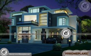 Modern Affordable House Plans & 70+ Modern Two Storey House Designs