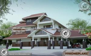 Modern Architecture Plans 100+ Two Storey House Design With Floor Plan