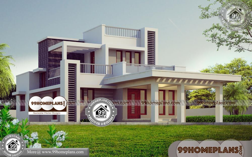 Modern House Kerala 60+ Floor Plan For Two Storey House Collections