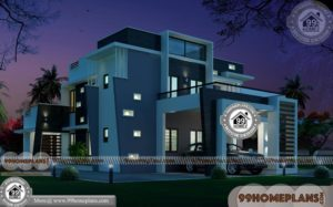 Modern Residence Design 90+ Narrow Two Storey Homes Stylish Plans