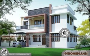 Modern Residential House Plans | 80+ 2 Storey House With Floor Plan
