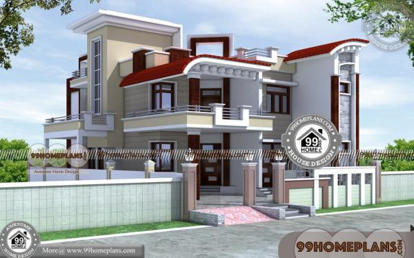 Narrow Land House Plans 60+ Best Two Storey House Designs Online