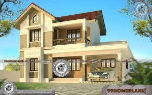 Narrow Lot Two Story House Plans | 80+ House Design In Kerala Style