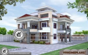 New Home Design Plans | 90+ Small Triple Storey House Plans & Designs