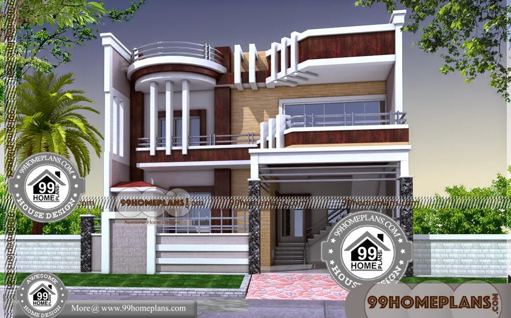 New Homes Plans 50 Contemporary Double Storey House