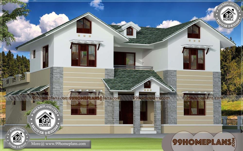 New House Ideas Designs 75+ Double Storey Homes Plans Selected Idea