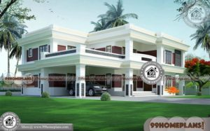 New Indian Home Design & 90+ Narrow Lot Two Storey Homes Collections