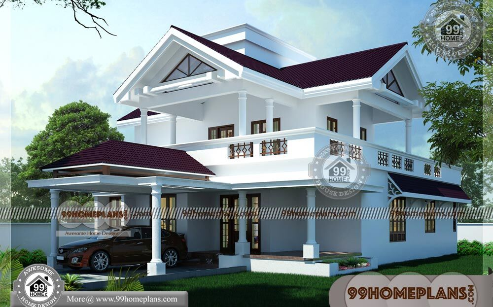 New Indian House Plans 60 Beautiful Two Storey House Designs Online