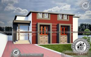 One Level House Plans with Open Floor Plans 70+ Two Storey Design