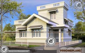 One Story Home Plans & 68+ New House Plans Kerala Style Collections